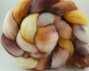 Yarn of Letters - 4oz 85/15 SW Merino/Nylon Combed Top - Hey Assbutt