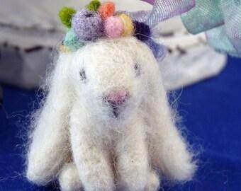 Easter Needle Felt Lop Eared Bunny