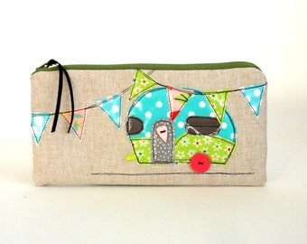 pencil case cosmetic bag glamping
