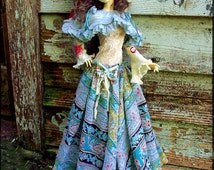One of a Kind Mori OOAK Set BJD SD13 Dollstown Outfit Fashion Dress Fits Most Dollmore Iplehouse Dollzone