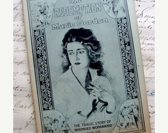 20PercentOff Stunning 1926 The Redemption of Marie Gordon