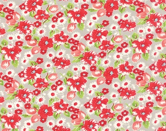 Grey Little Ruby Fabric - Moda - Bonnie and Camille - 55130 15
