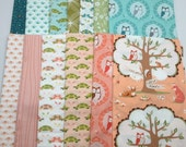 CHRISTMAS IN JULY Sale - Fat Quarter Bundle (13) - Les Amis - Michael Miller  - Patty Sloniger