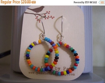 ON SALE Multi-Colored Hoops