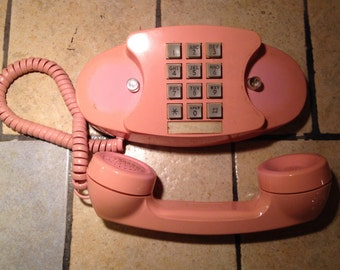 1983 Pink Princess Touch Tone Telephone