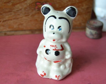Vintage 1940's Mickey Mouse Salt Pepper Shaker Single