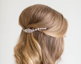 Bridal Hair Swag, Wedding Hair Jewelry, Wedding Headpiece, Wedding Hair Accessory