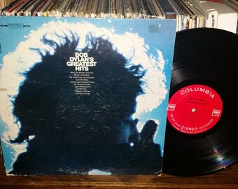 Bob Dylan's Greatest Hits Vintage Vinyl Record