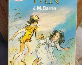 Peter Pan by J.M. Barrie Vintage Paperback Book