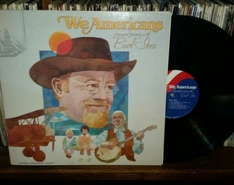 We Americans A Musical Journey With Burl Ives Vintage Vinyl Record