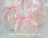 Pink Cross Chocolate Covered Oreos Cookies Baptsim Favors Christening Communion Cookies Baby Shower Cross Cookies Confirmation Favors 1 DOZ.