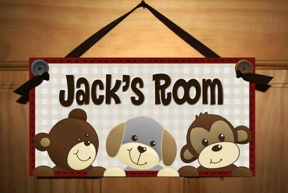 cute as a button bedroom kids bedroom door sign by toadandlily