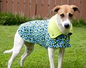 Squirrels: Dog Jacket, Dog Jackets, Dog Fleece, Corduroy Dog Jacket