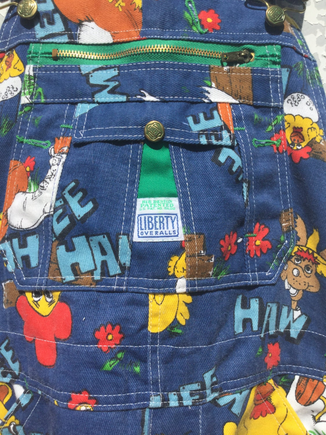 Hee Haw Overalls Adult Size Original Television Series