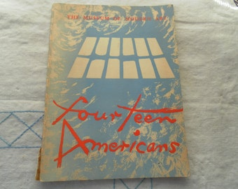 Fourteen Americans edited by Dorothy Miller MOMA books spring sale