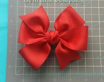 4 inch Grosgrain Hair Bow for Girls