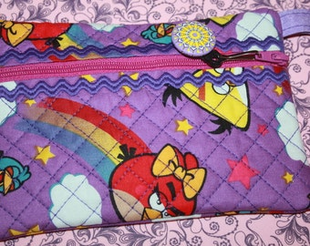 Angry Birds Zipper Pouch