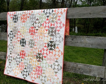 Droplets PAPER Quilt Pattern #109
