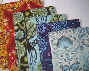 The Birds and the Bees by Tula Pink Fat Quarter set YES!!! I combine shipping and use flat rate envelopes