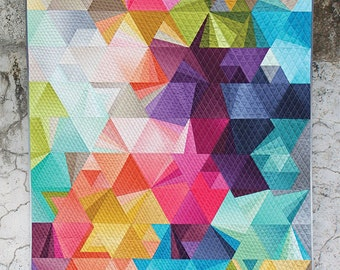Tesselation Quilt kit with  Moda Ombre