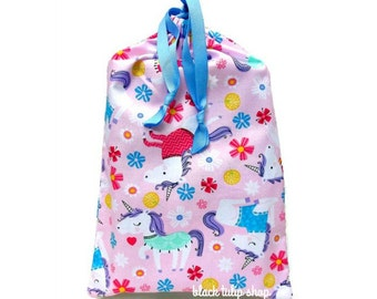 Planner Cover Drawstring Pouch Toy Bag Unicorns Sweaters Scarves Cute Magical Unicorn Pink Planner Cover Girls Teen Room