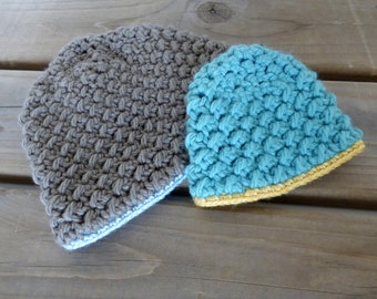 Crochet Hat Pattern: Back Slash Hat