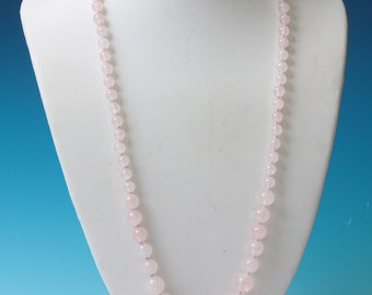 """Shop """"rose quartz beads"""" in Necklaces"""