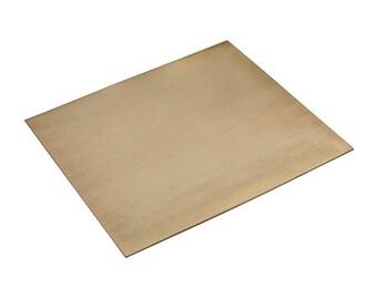 Brass Sheet 6 x 6 18 Gauge