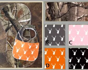 Camo Burp Cloths-Boy-Burp Cloth Set-Gender Neutral-Baby Shower Gift-Burp Cloth-Burp Cloth Girl-Deer Head-Camo Burp Cloth-Burp Clothes-Deer