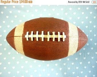 American football ball Box
