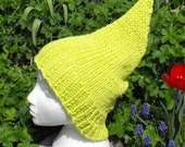 HALF PRICE SALE Instant Digital File pdf download Superfast Garden Gnome Slouch pdf knitting pattern