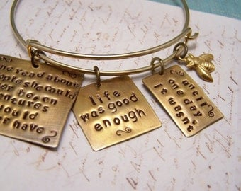 Charlotte Charles Charm Bracelet. Pushing Daisies. Lonely Tourist. Ned and Chuck