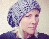 Sabine Hat - knit beanie pattern - PDF