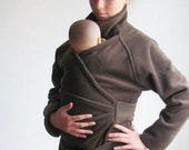 Maternity. Baby Clothes. Maternity Clothes. Sling Coat. Babywearing Coat. Baby Wearing Coat. Maternity Coat.