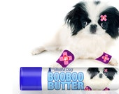 Japanese Chin Boo Boo Butter Handcrafted Herbal Balm for Your Little Dog's Discomforts .15 oz Tube Japanese Chin Ouch Label in Gift Bag