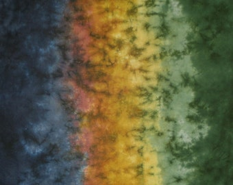 Hand Dyed Fabric Gradient - Coming Home