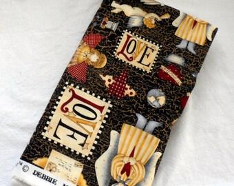"DEBBIE MUMM CHRISTMAS Fabric/Mumm's The Word""/7 Eights of a Yard Debbie Mumm 100 Percent Quilters Cotton Fabric/Discontinued Print"