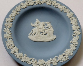 Blue Wedgwood Plate made in England
