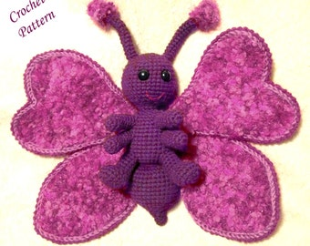 Snuggly Butterfly PDF Crochet Pattern