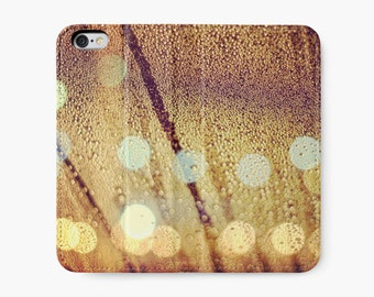 Champagne Wallet ~ Sparkling ~ Cell Phone Case ~ Bubbly ~ Celebration ~ iPhone Wallet