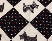 Scottie Dogs Quilt ***RESERVED FOR CAROL****
