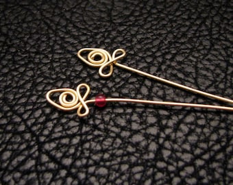 Fancy pins, headpins, eye pins, jewelry finding, jewelry accessories, jewelry components, beading supplies, 8