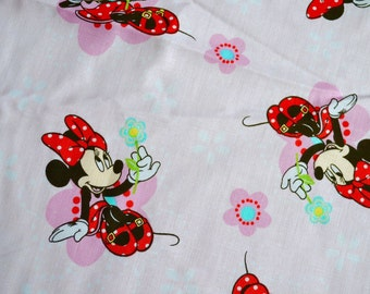 Minnie Mouse Fabric - By the Yard