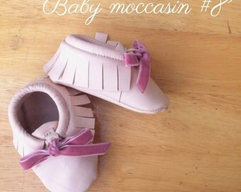 Baby moccasins #8