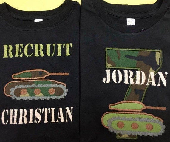 Army Birthday Shirt Tank Recruit 1st 2nd 3rd