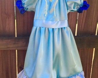 Isabel dress from Elena of Avalor inspired dress