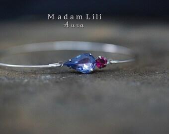 AURA II Silver-plated Bracelet