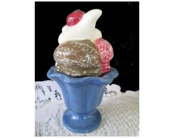 ICE CREAM SUNDAE Salt And Pepper Shakers * Sakura