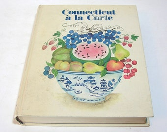 Connecticut a la Carte, Vintage Cookbook