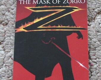 Mask of Zorro Notepad